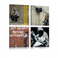 Tableau  Banksy  Street Art