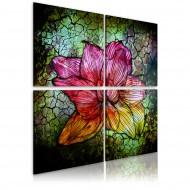 Tableau  Fleur de verre