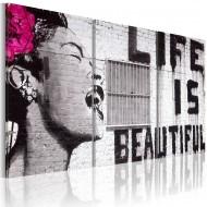 Tableau  La vie est belle