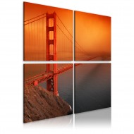 Tableau  Pont du Golden Gate San Francisco