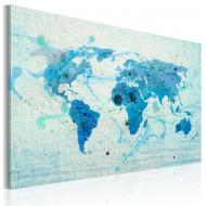 Tableau  Terres et océans