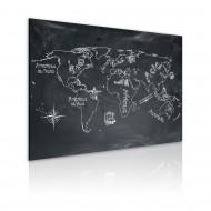 Tableau  Leçon de géographie (langue française)