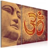 Tableau  Bouddha  symbole