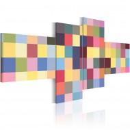 Tableau  Esthétique de couleurs