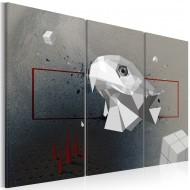Tableau  Aigle  3D  Triptyque