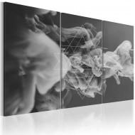 Tableau  Fumée et symétrie
