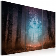 Tableau  Edge of the forest  triptych