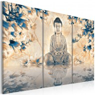Tableau  Rite bouddhiste