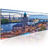 Tableau  Hambourg  port