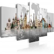 Tableau  Monuments mondiaux