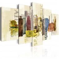 Tableau  Design urbain  5 pièces