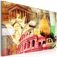 Tableau  Rome charmant