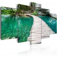 Tableau  Lac turquoise