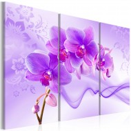 Tableau  Ethereal orchid  violet