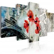 Tableau  Memories of Paris