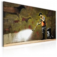 Tableau  Cave Painting by Banksy