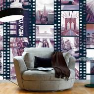Papier peint  NY  Urban Collage