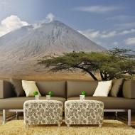 Papier peint  Volcan dAfrique, Ol Doinyo Lengaï en Tanzanie