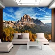 Papier peint  Vue merveilleuse sur les Dolomites
