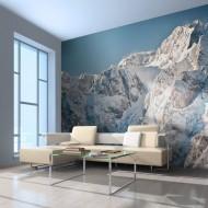 Papier peint  Paysage enneigé, Alpes