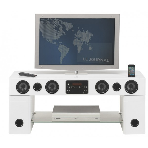 Meuble Tv Kaorka : Meuble-tv-home-cinema-karaoke-station-ipod-iphone-blancjpg