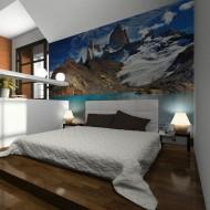 Papier peint  Mount Fitz Roy, Patagonia, Argentina