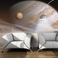 Papier peint  Une petite planète et une grande