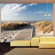 Papier peint  Plage  Mer du Nord, Langeoog