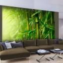 Papier peint - jungle - bambou
