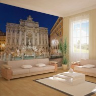 Papier peint  Fontaine de Trevi  Rome