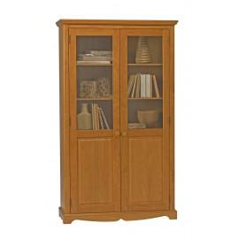 Bibliothèque Pin Miel de Style Anglais