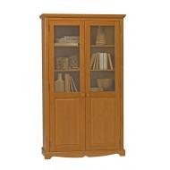 Meuble bibliothèque pin miel 2 portes de style anglais 38222
