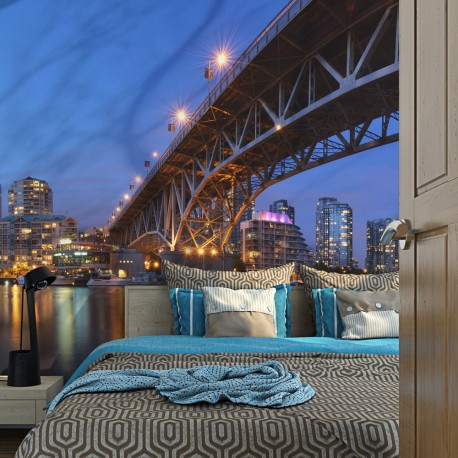 Papier peint  Granville Bridge  Vancouver (Canada)