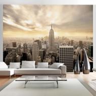 Papier peint  New York  Manhattan à laube