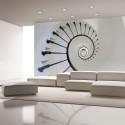 Papier peint - escaliers (phare)