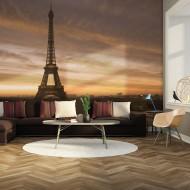 Papier peint  Tour Eiffel à laube