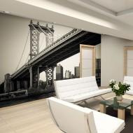 Papier peint  Pont de Manhattan, New York
