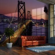 Papier peint  Charming evening in San Francisco