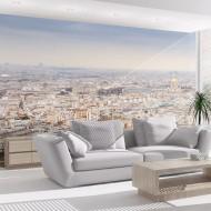 Papier peint  Paris  vue à vol doiseau
