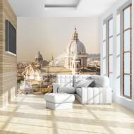 Papier peint  Rome et vue à vol doiseau