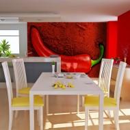 Papier peint  Red hot chili pepper
