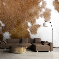 Papier peint  Peau de vache