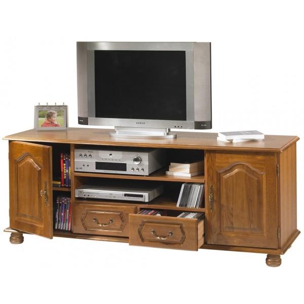 Meuble tv industriel meuble t l - Meuble hifi industriel ...