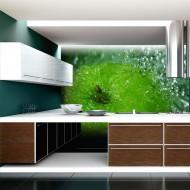 Papier peint  Pomme verte