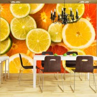 Papier peint  Citrus fruits