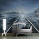 Papier peint - Le train fantôme