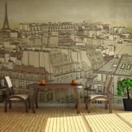 Papier peint  Good bye Paris!