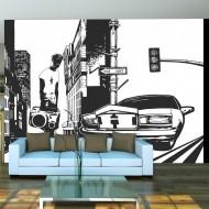 Papier peint  Style urbain