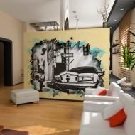 Papier peint  Urban atmosphere