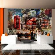 Papier peint  Collage  Londres